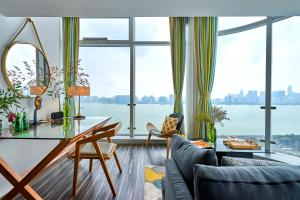 Wisetrip Riverside Apartments, Apartmanok  Hangcsou - big - 11