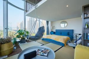 Wisetrip Riverside Apartments, Apartmanok  Hangcsou - big - 12