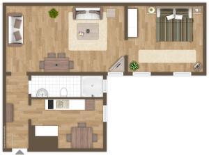 Apartment Monroe (Buchholzerstr. 8)