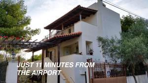 Villa Leonidas near Athens Airport, Villák  Lúca - big - 75