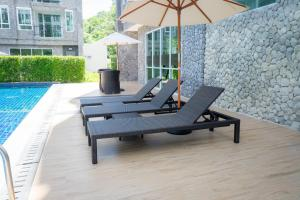 The courtyard Khaoyai by Sithadee, Apartments  Mu Si - big - 8