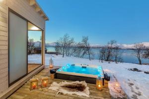 Robukta Lodge, Apartmány  Tromsø - big - 14