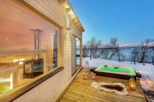 Robukta Lodge, Apartmány  Tromsø - big - 36
