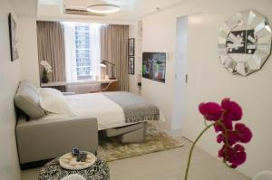 Short Term Rentals Makati Parkplace, Apartmány  Manila - big - 94