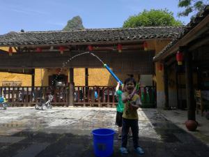 Yangshuo Loong Old House, Kúriák  Jangsuo - big - 97