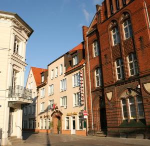 Altstadt Hotel zur Post Stralsund, Hotel  Stralsund - big - 22