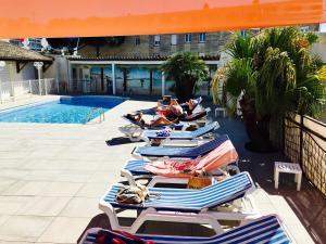 Amerique Hotel Palavas Montpellier Sud, Hotel  Palavas-les-Flots - big - 16