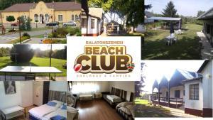 Balatonszemesi Beach Club Üdüloház and Camping