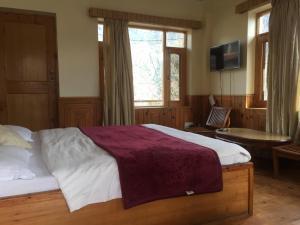 Compass Cottage, Lodges  Manāli - big - 21