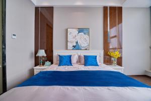 Wisetrip Riverside Apartments, Apartmanok  Hangcsou - big - 16