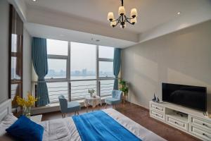 Wisetrip Riverside Apartments, Apartmanok  Hangcsou - big - 17