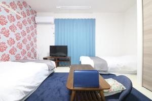 HG Cozy Hotel No.39, Apartments  Osaka - big - 8