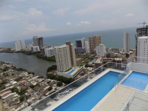 Cartagena de Indias Vista Caribe, Apartmanok  Cartagena de Indias - big - 4
