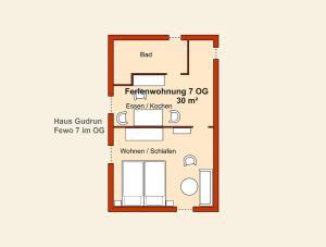 Ferienwohnungen Stranddistel, Apartmány  Zinnowitz - big - 272