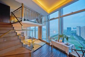 Wisetrip Riverside Apartments, Apartmanok  Hangcsou - big - 43
