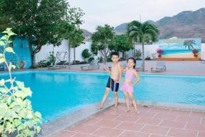 Gold Stars Hotel, Hotel  Long Hai - big - 16