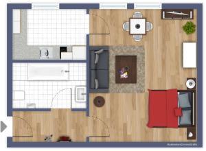Apartment James (Greifenhagenerstr. 64)
