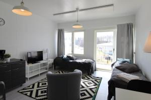 Quality apartment with sauna and balcony, Apartmány  Porvoo - big - 6