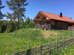 Chata Bergsäng Stuga Leksands-Noret Švédsko