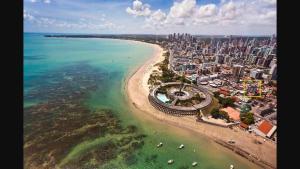 Flat na praia de Tambaú, Ferienwohnungen  João Pessoa - big - 2