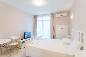 Flores Garden Beach Residence, Apartmány  Chernomorets - big - 18