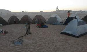 White desert, Campsites  Bawiti - big - 42