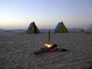 White desert, Campsites  Bawiti - big - 43