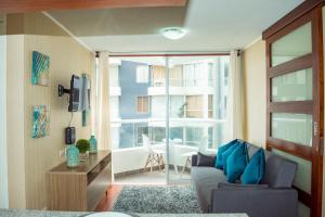 Exclusivo Departamento Con Vista Al Mar, Appartamenti  Lima - big - 34