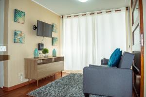 Exclusivo Departamento Con Vista Al Mar, Appartamenti  Lima - big - 36