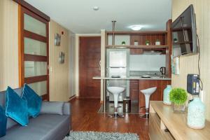 Exclusivo Departamento Con Vista Al Mar, Appartamenti  Lima - big - 38