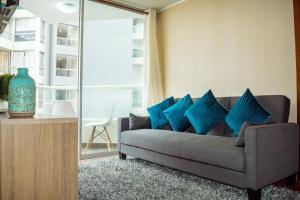 Exclusivo Departamento Con Vista Al Mar, Appartamenti  Lima - big - 39