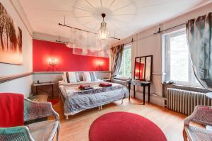 B&B Villa Belle Epoque, Bed and breakfasts  Barvaux - big - 41