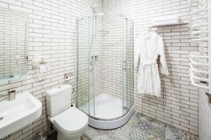 Apart Hotel Code 10, Apartmanhotelek  Lviv - big - 38