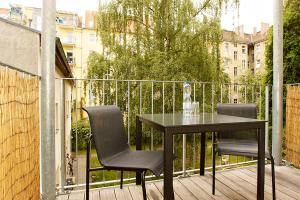 Studio Apartment Plus with a separate Kitchen and Balcony (44 m2)