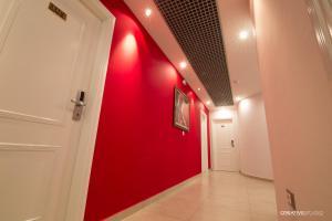 Hotel Flamingo, Hotel  Korçë - big - 33