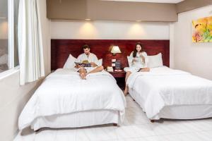 Hotel Maria del Carmen, Отели  Мерида - big - 4