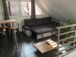 Duplex chocolat vanille, Апартаменты  Сен-Пьер - big - 19