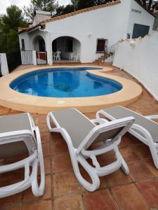 Villa Amistad, Villas  Orba - big - 37