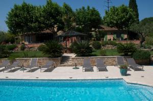 Bastide de l'Avelan, Отели типа «постель и завтрак»  Гримо - big - 66