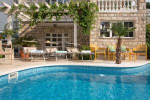 4 hviezdičkový apartmán Apartments Captain's Villa Budva Čierna Hora