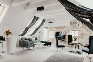 5 hviezdičkový apartmán Coco Chanel Boutique Apartment Brno Česko
