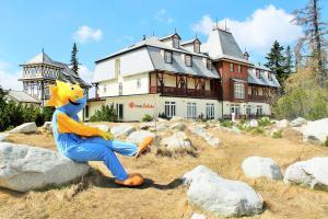 4 hviezdičkový hotel Hotel Solisko Štrbské Pleso Slovensko