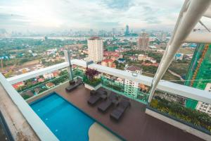 Infinity 28 Condominium, Apartments  Phnom Penh - big - 23