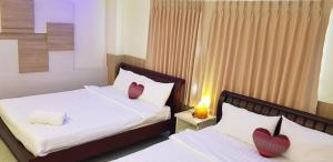 Rodinný dvoulůžkový pokoj s manželskou postelí