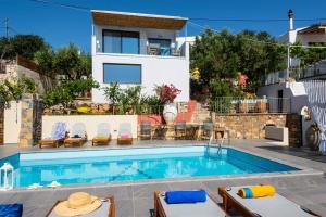 Villa Olga, Ville  Agios Nikolaos - big - 108