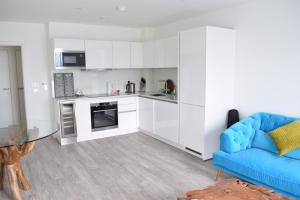 One Bedroom Flat Overlooking the Thames, Апартаменты  Лондон - big - 4