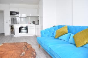 One Bedroom Flat Overlooking the Thames, Апартаменты  Лондон - big - 12