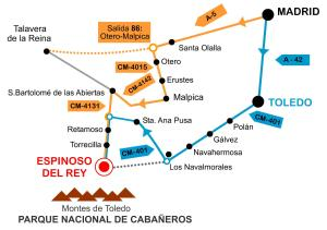 Casa rural El Pinche, Дома для отпуска  Espinoso del Rey - big - 23