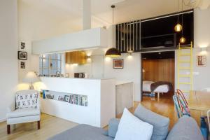Modern, Design 1 Bed apt sleeps 4 in Waterloo, Apartmanok  London - big - 13
