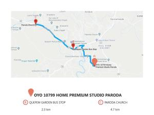 OYO 10799 Home Premium Studio Paroda, Apartmány  Sirvoi - big - 25